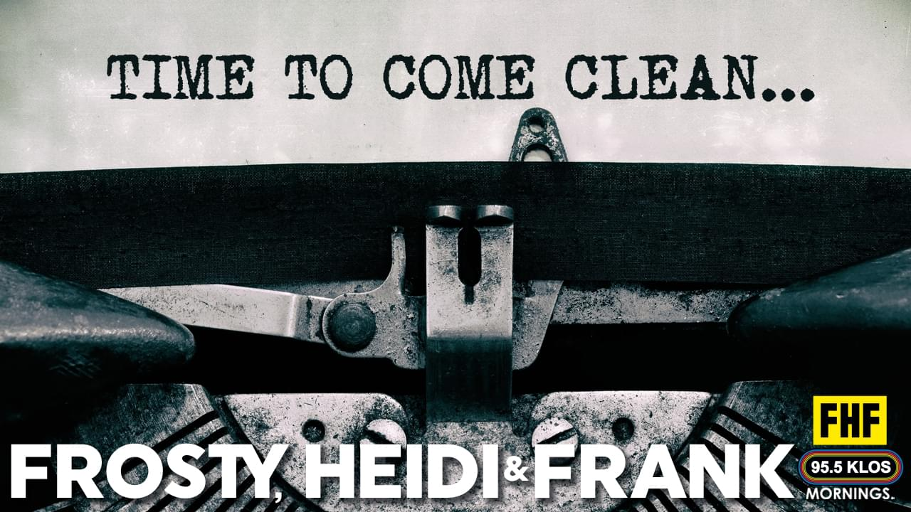 FHF Clear their Conscience and Come Clean