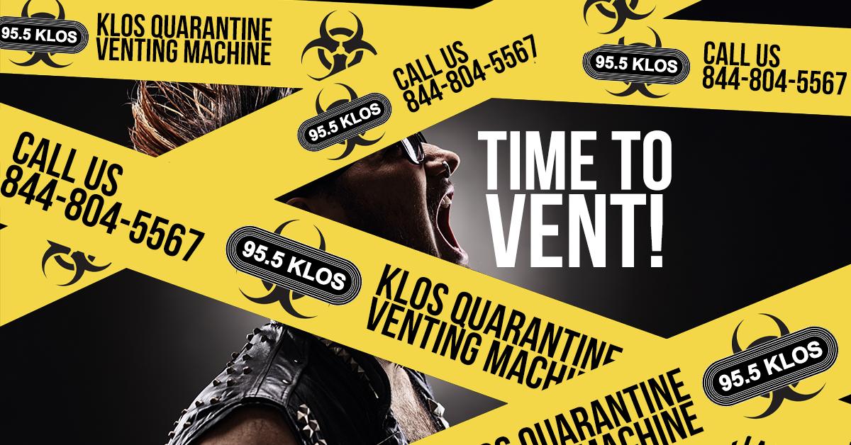 KLOS Quarantine Venting Machine