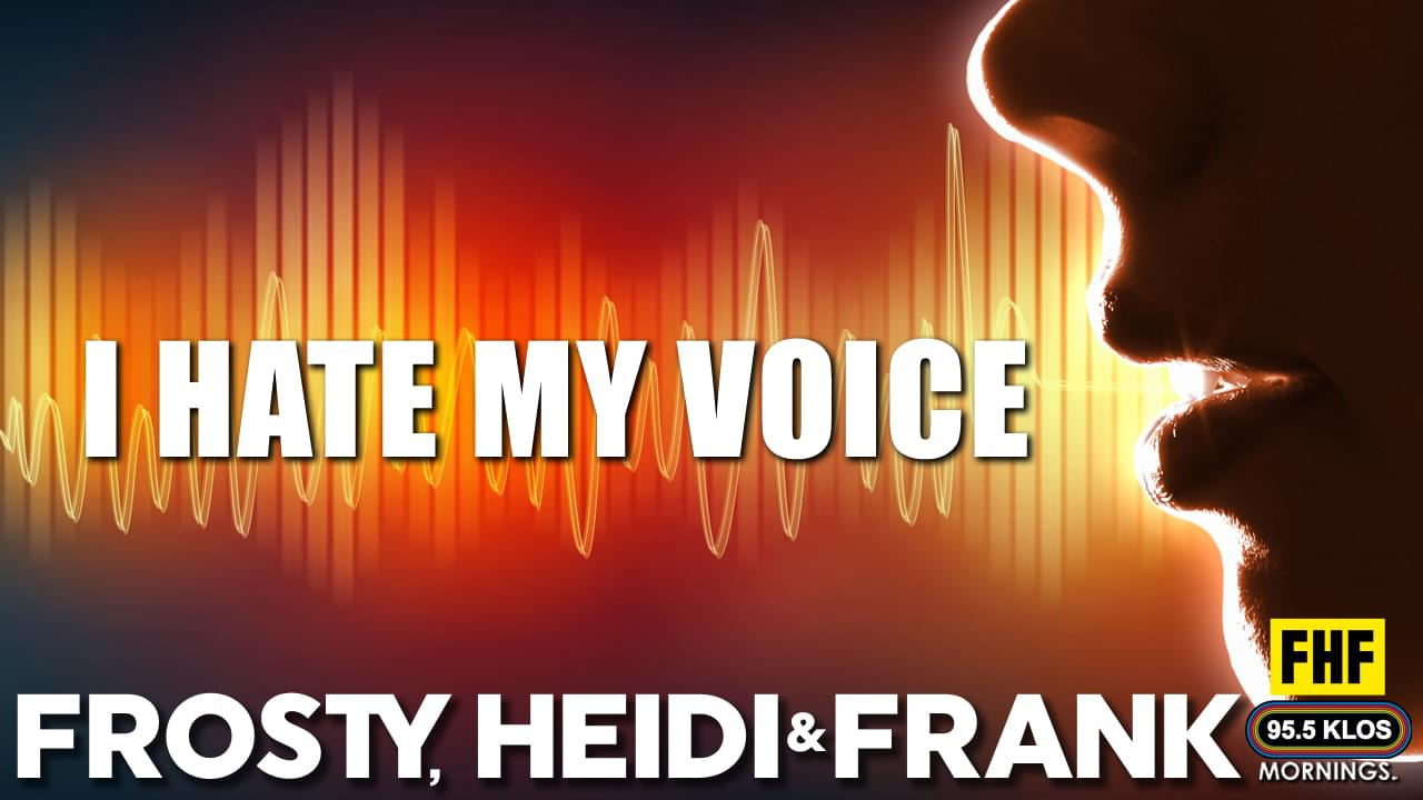 I Hate My Voice