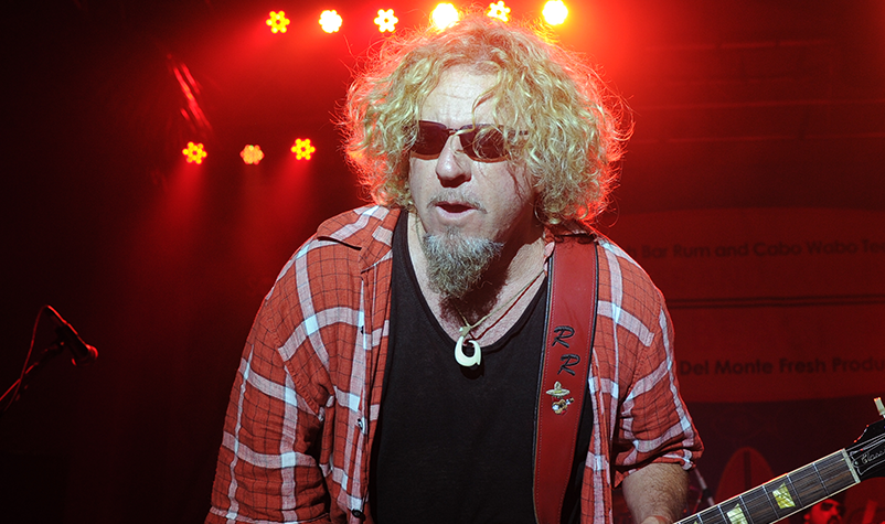 "Sammy Hagar & The Circle cover ""Won't Get Fooled Again"""