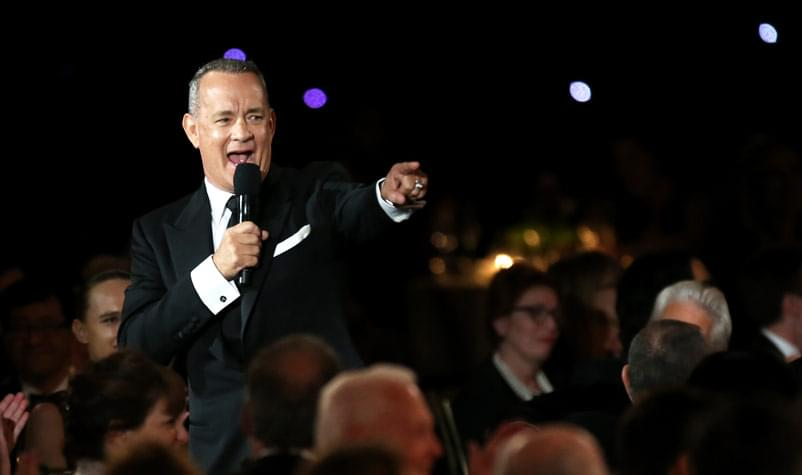Tom Hanks Donates Blood to Help COVID-19 Patients