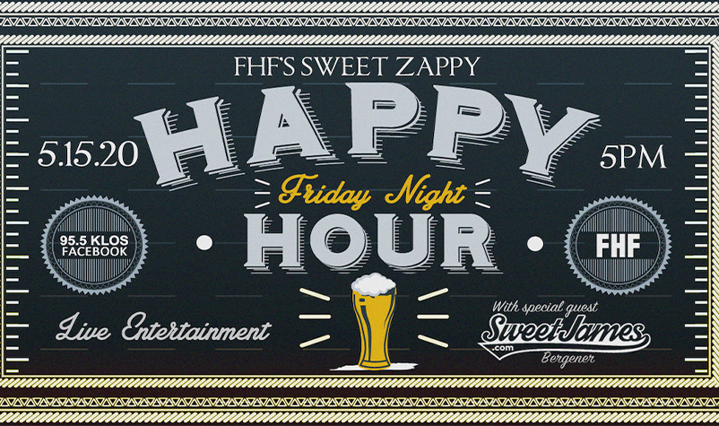 May 15: FHF Happy Hour