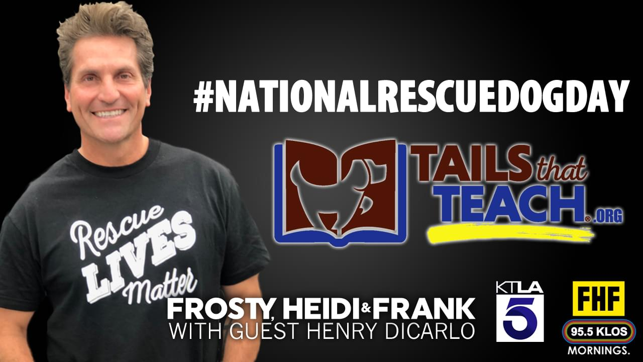 Frosty, Heidi and Frank with guest Henry DiCarlo