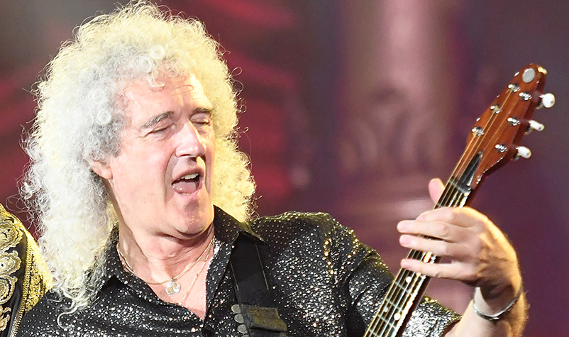 Queen's Brian May Ranked Top Guitarist of All-Time by Total Guitar Magazine