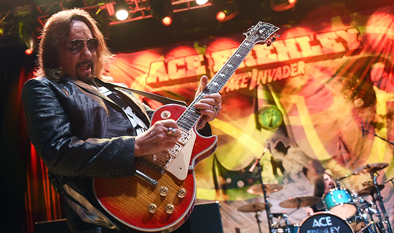 "Ace Frehley to Play ""Socially Distanced"" Concerts"