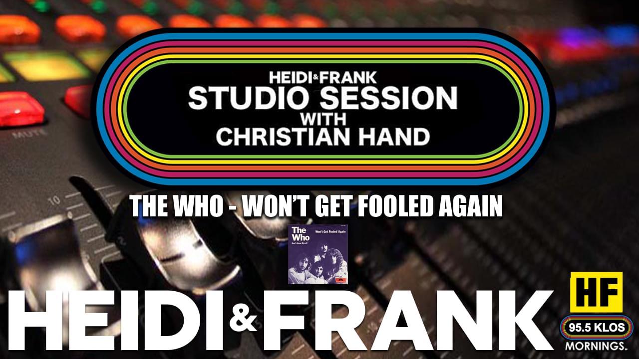 HF Studio Session With Christian James Hand 6/15/20