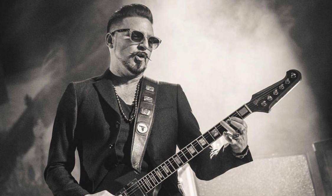 Rival Sons' Scott Holiday Checks-in with Marci Wiser