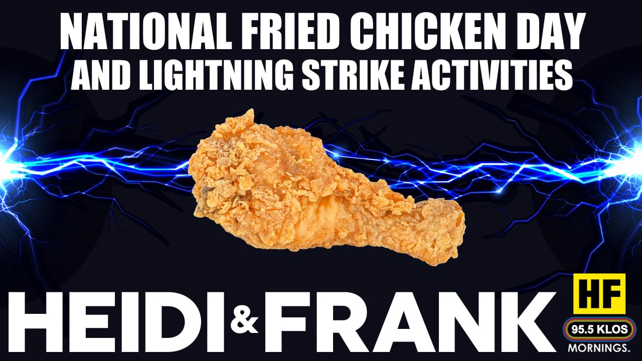 National Fried Chicken Day and Lighting Strike Activities