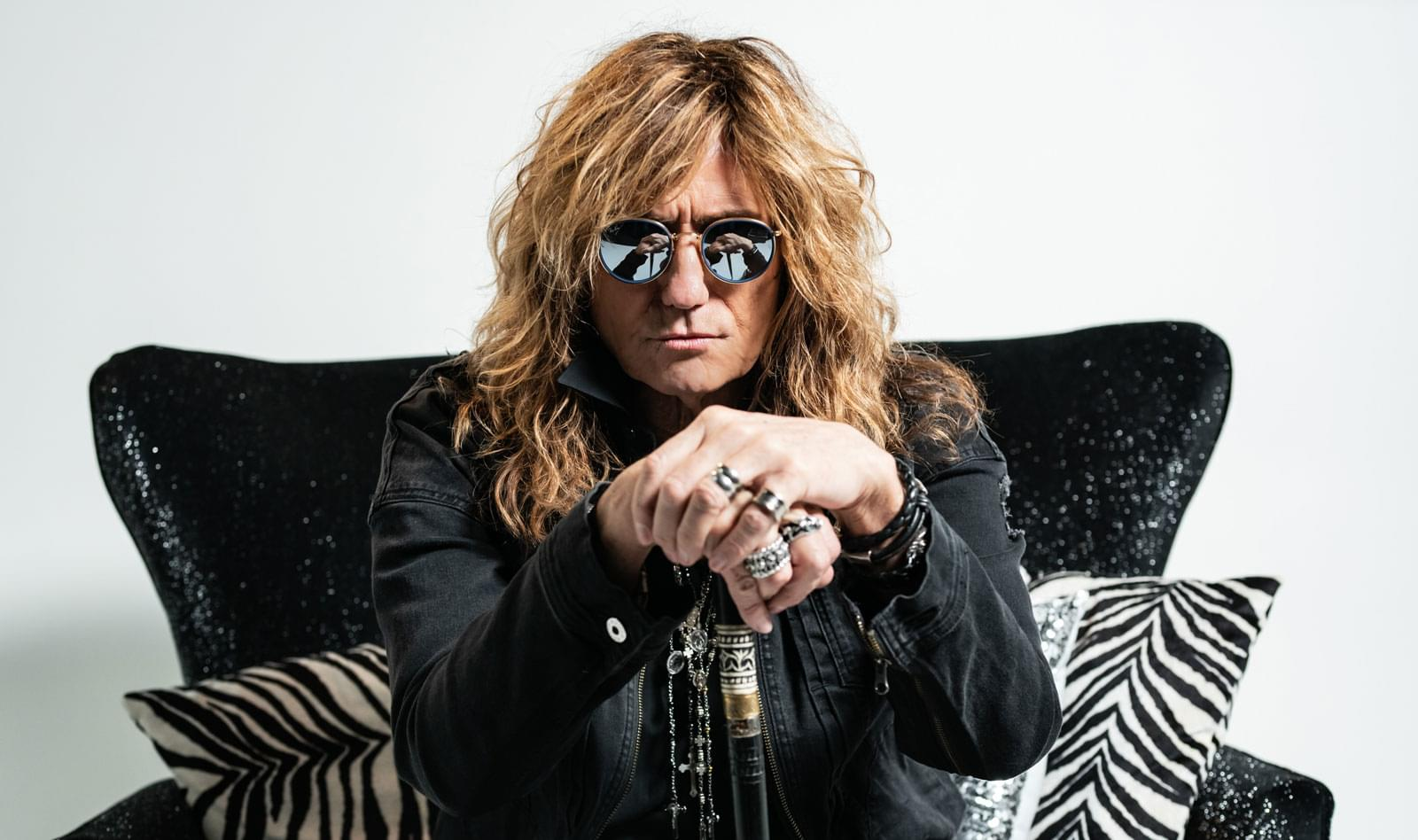David Coverdale Checks-In with Marci Wiser