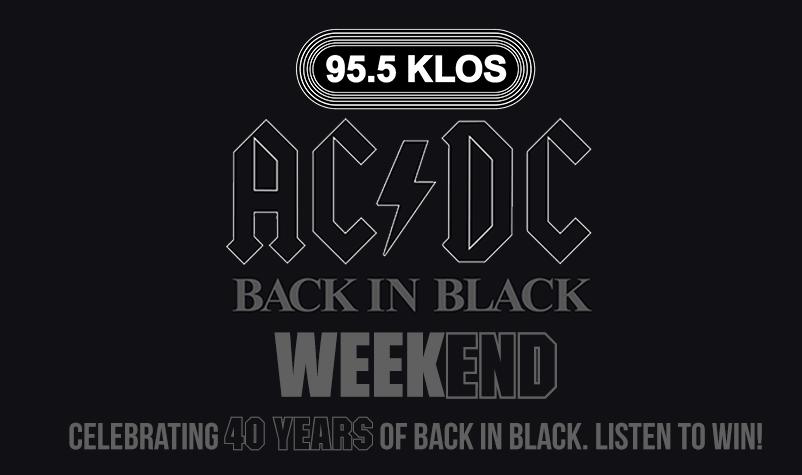 Back in Black Weekend