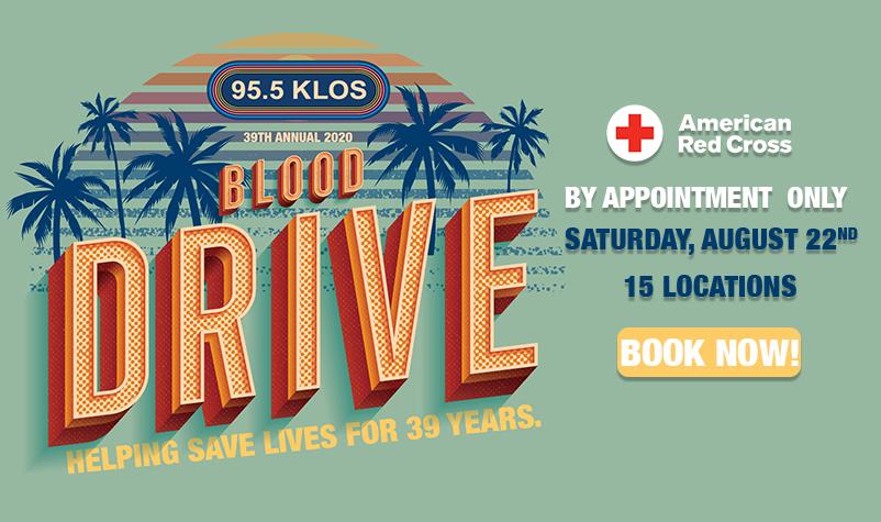 2020 KLOS Blood Drive