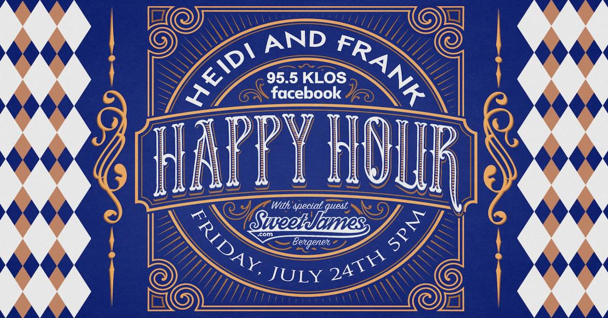Friday at 5PM: Heidi and Frank Happy Hour