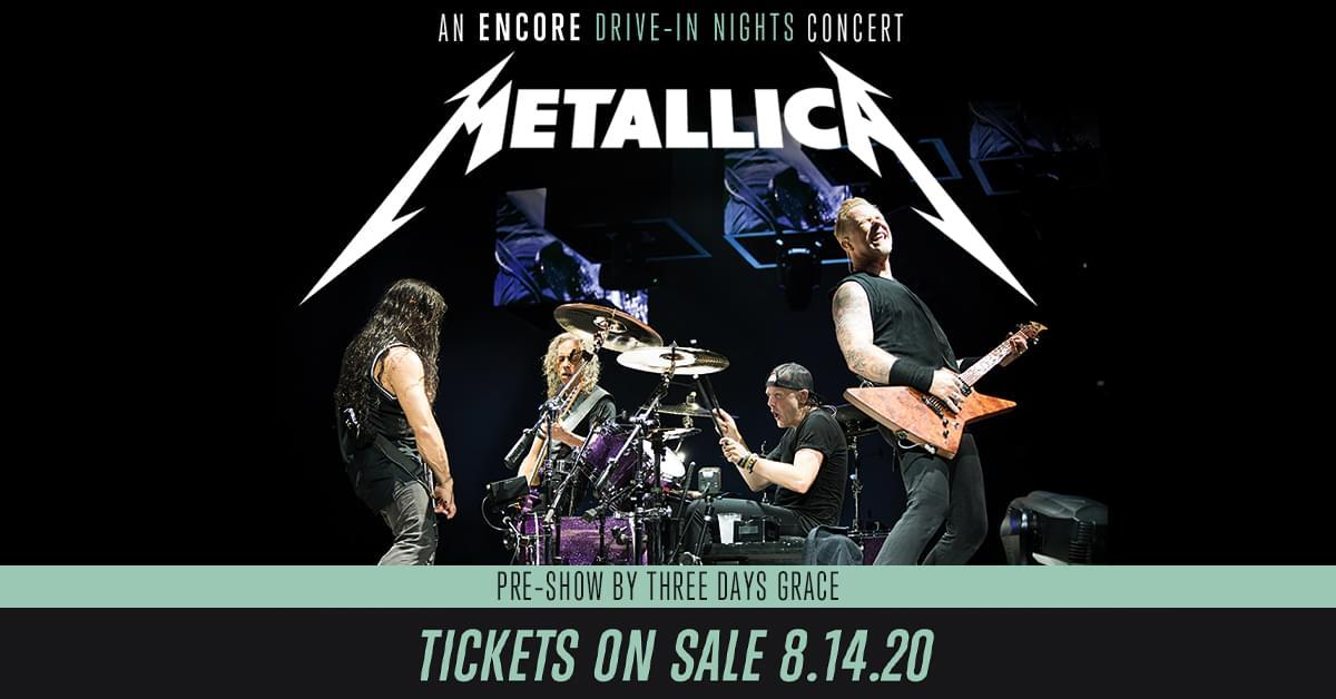 Metallica – An Encore Drive-In Nights Concert