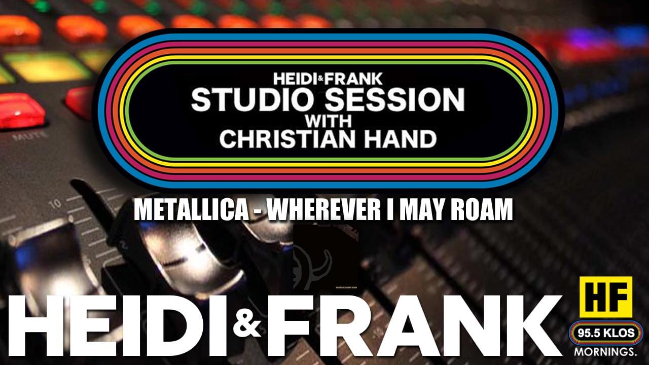 HF Studio Session With Christian James Hand 8/10/20