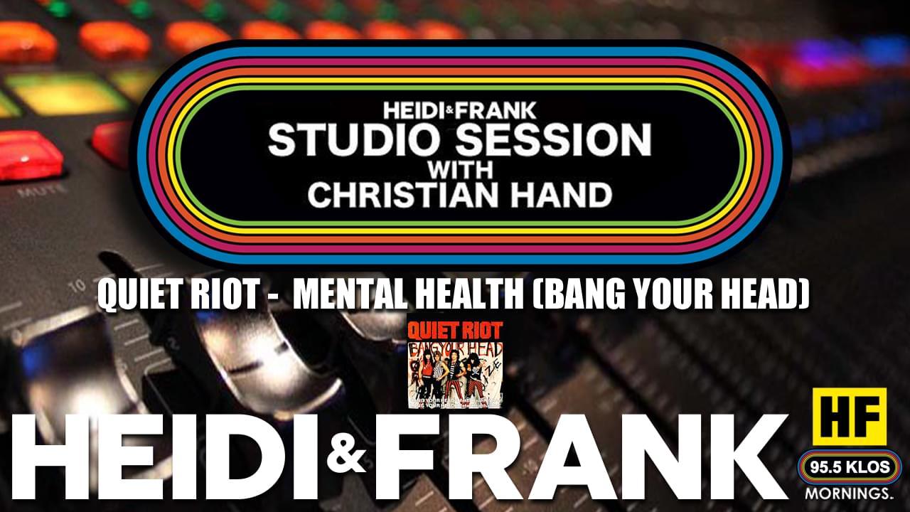 HF Studio Session With Christian James Hand 8/24/20