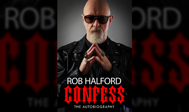 """Enter to win Rob Halford's New Book """"CONFESS"""""""