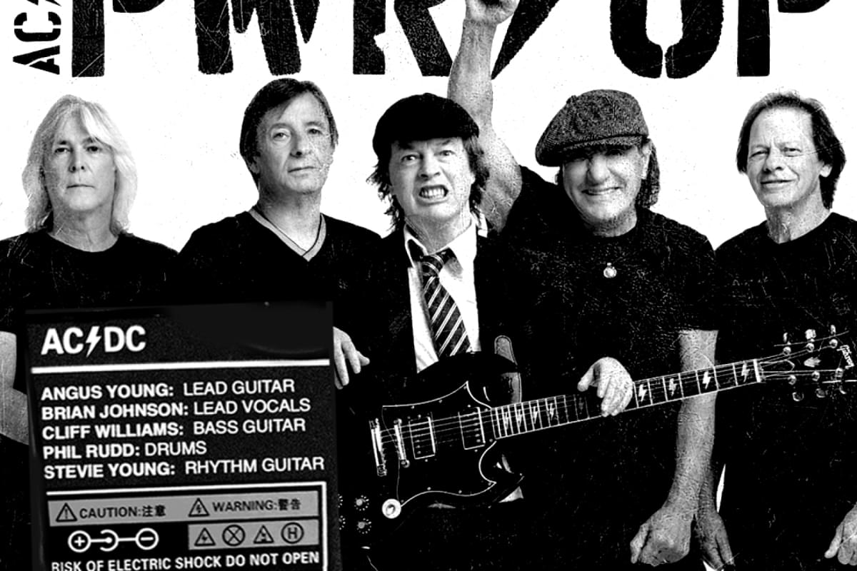 AC/DC Officially Confirms Return of Brian Johnson, Cliff Williams, Phil Rudd