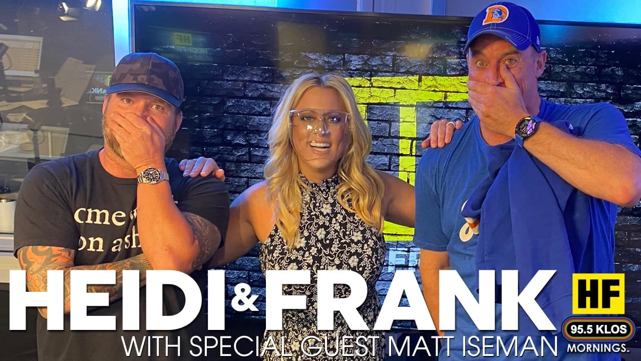 Heidi and Frank with guest Matt Iseman