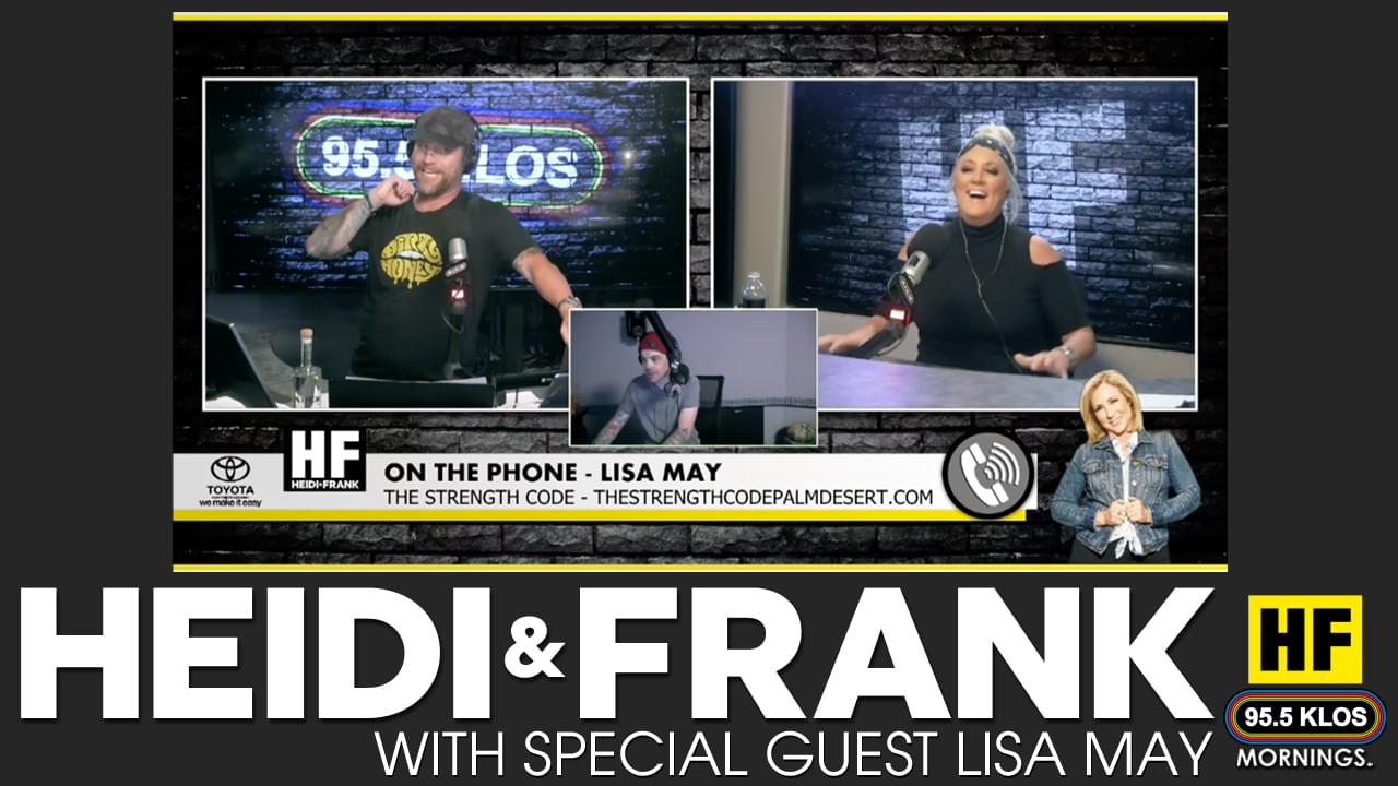 Lisa May Checks-in with Heidi and Frank