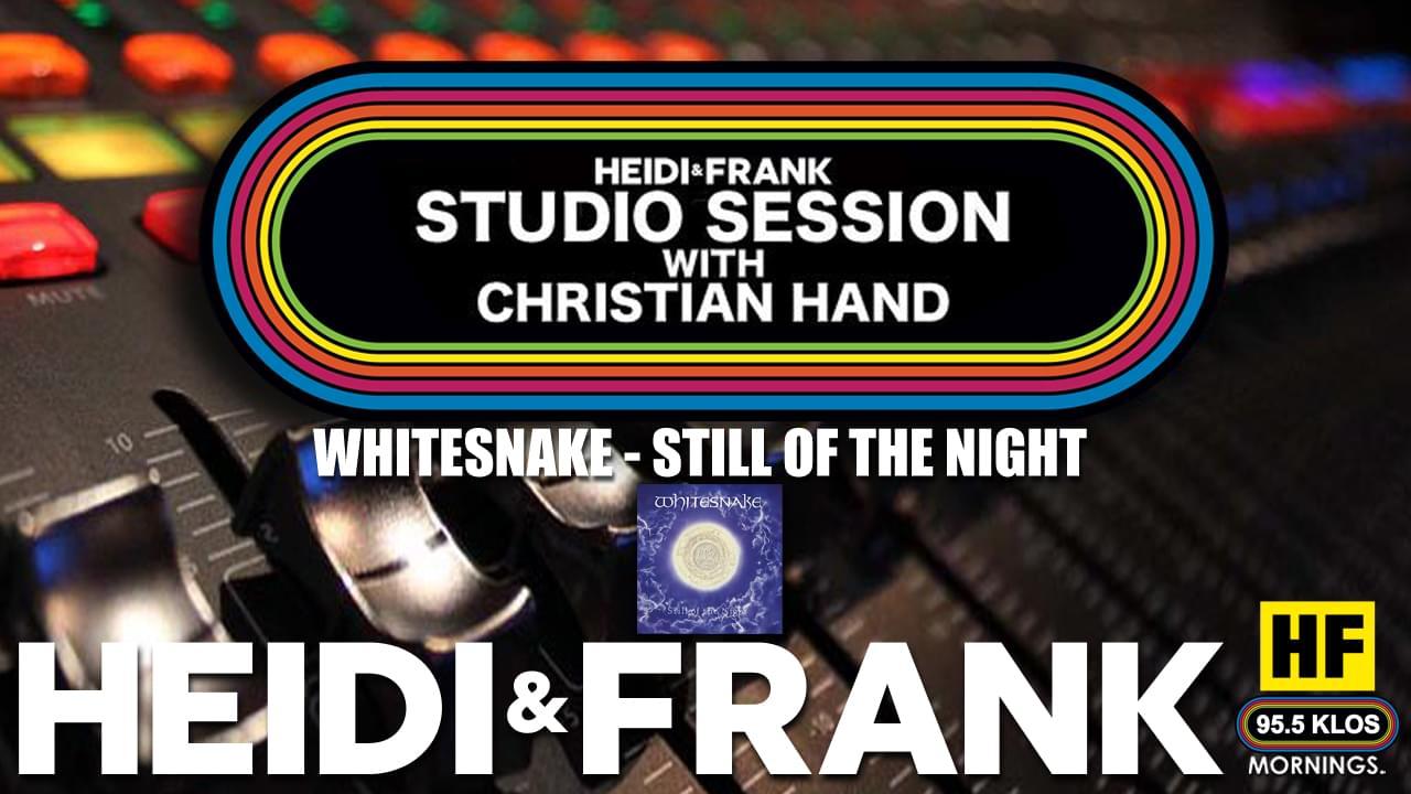 HF Studio Session With Christian James Hand 10/26/20