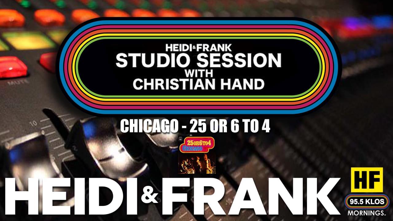 HF Studio Session With Christian James Hand 11/23/20