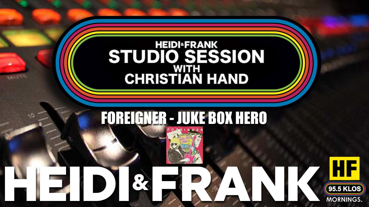 HF Studio Session With Christian James Hand 01/04/21