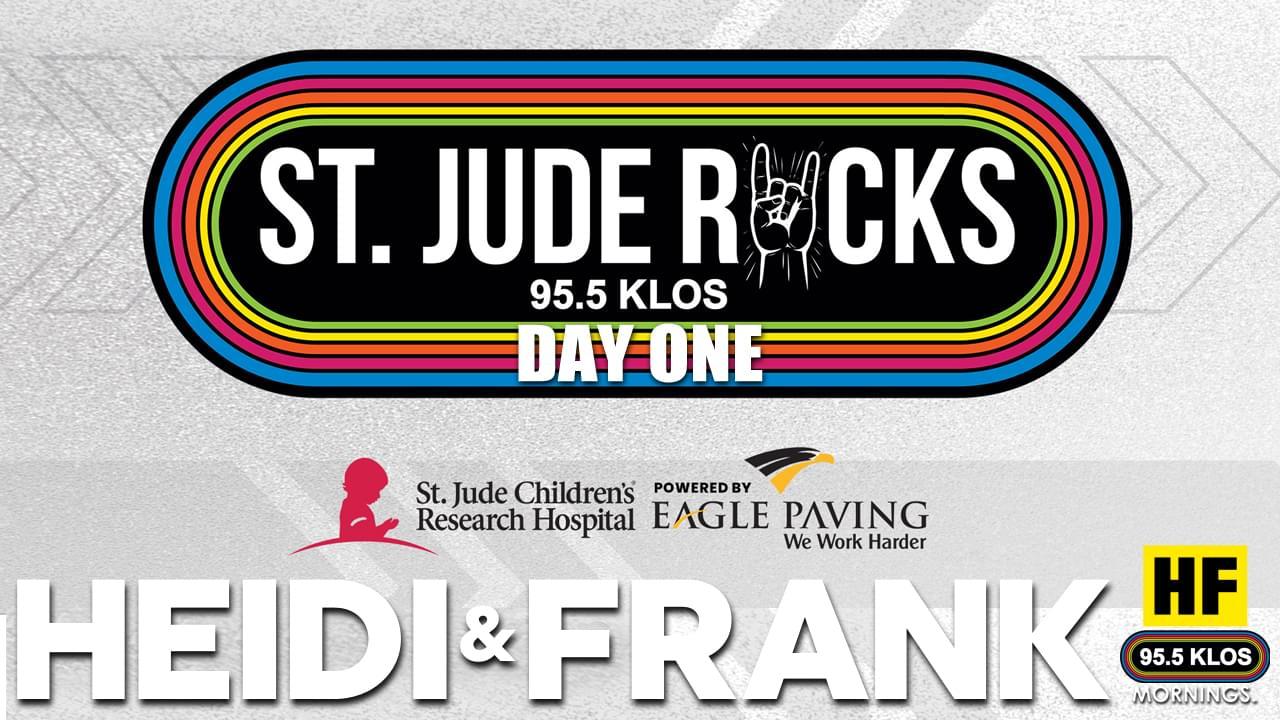 Day 1 of the 95.5 KLOS St Jude Fund Raiser