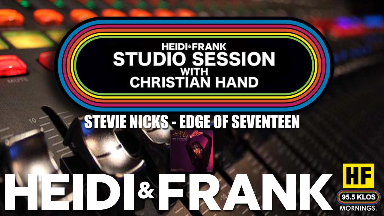 HF Studio Session With Christian James Hand 04/05/21