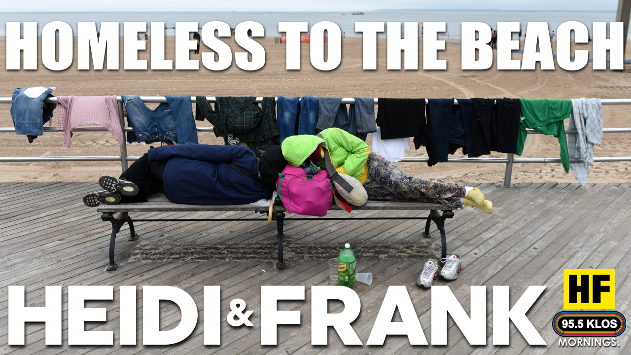 Homeless to the Beach