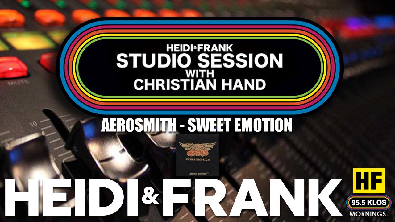 HF Studio Session With Christian James Hand 04/19/21