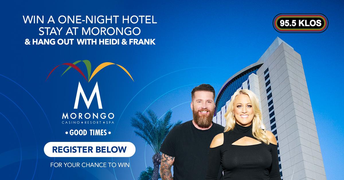 Win A One-Night Hotel Stay At Morongo Casino, Resort & Spa!!