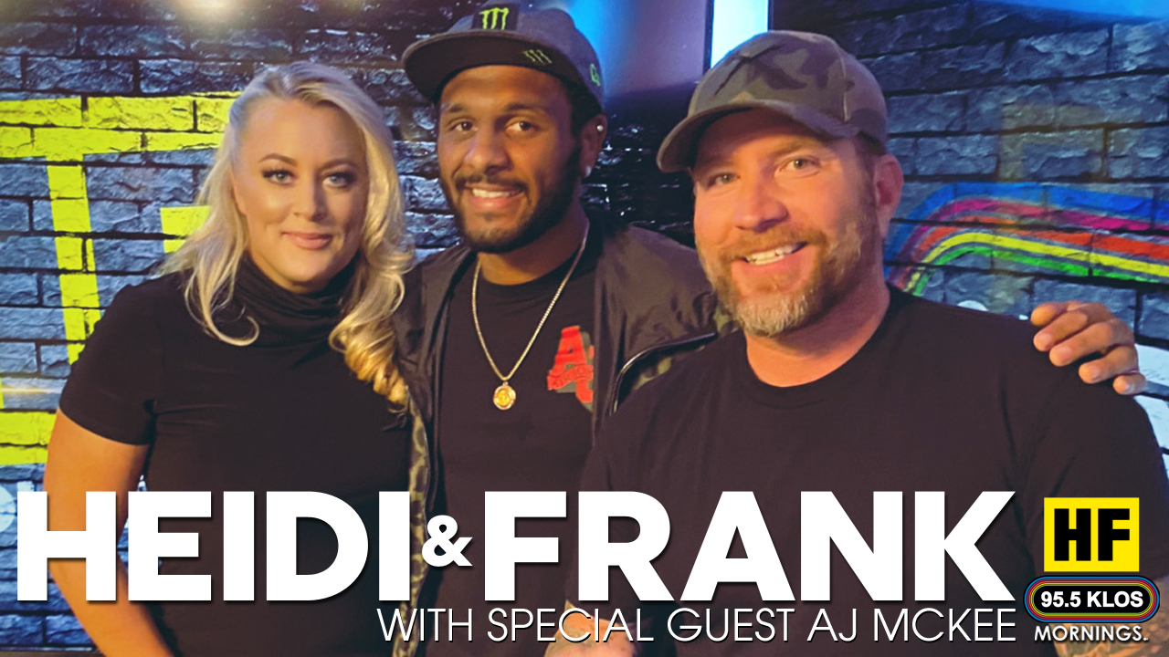 Heidi and Frank with guests AJ McKee