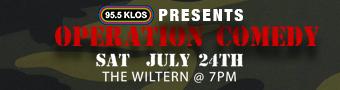 95.5 KLOS Presents: Operation Comedy
