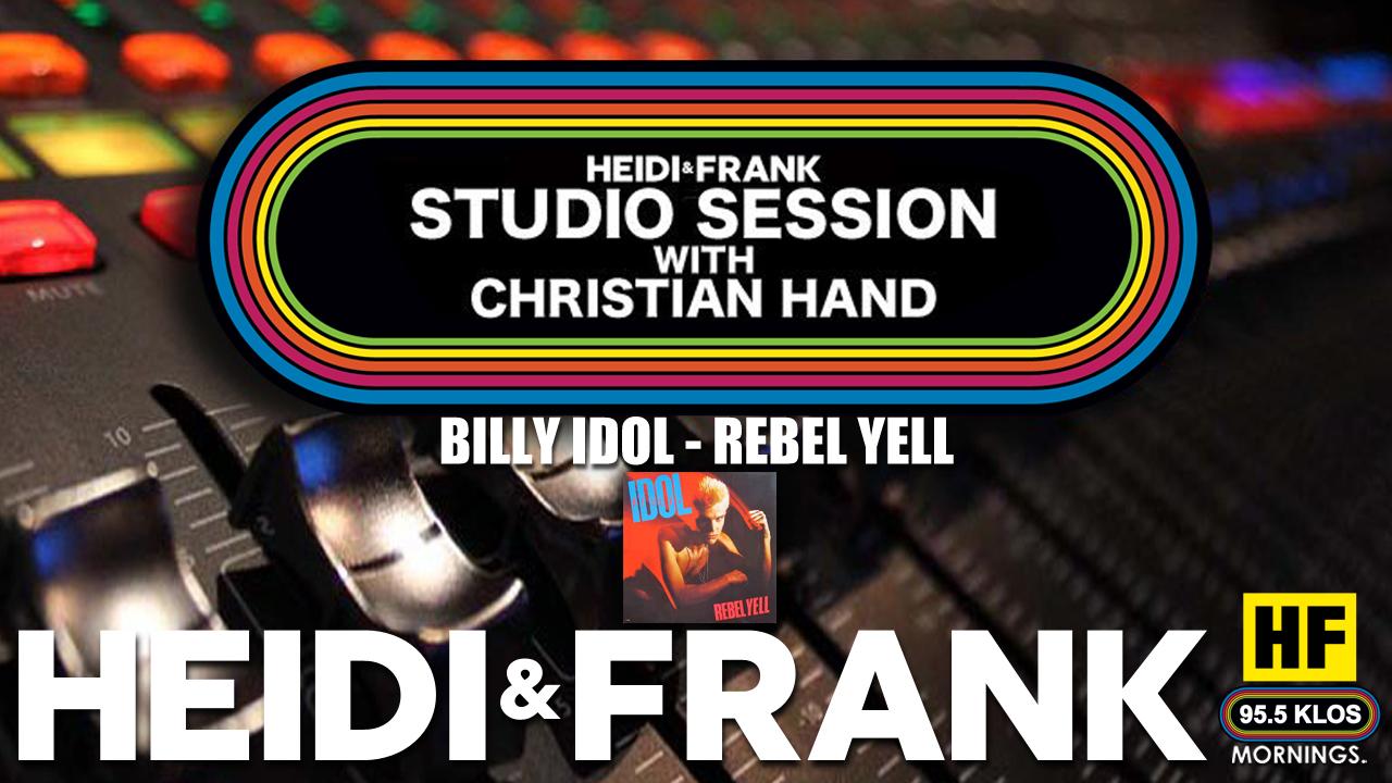 HF Studio Session With Christian James Hand 07/12/21
