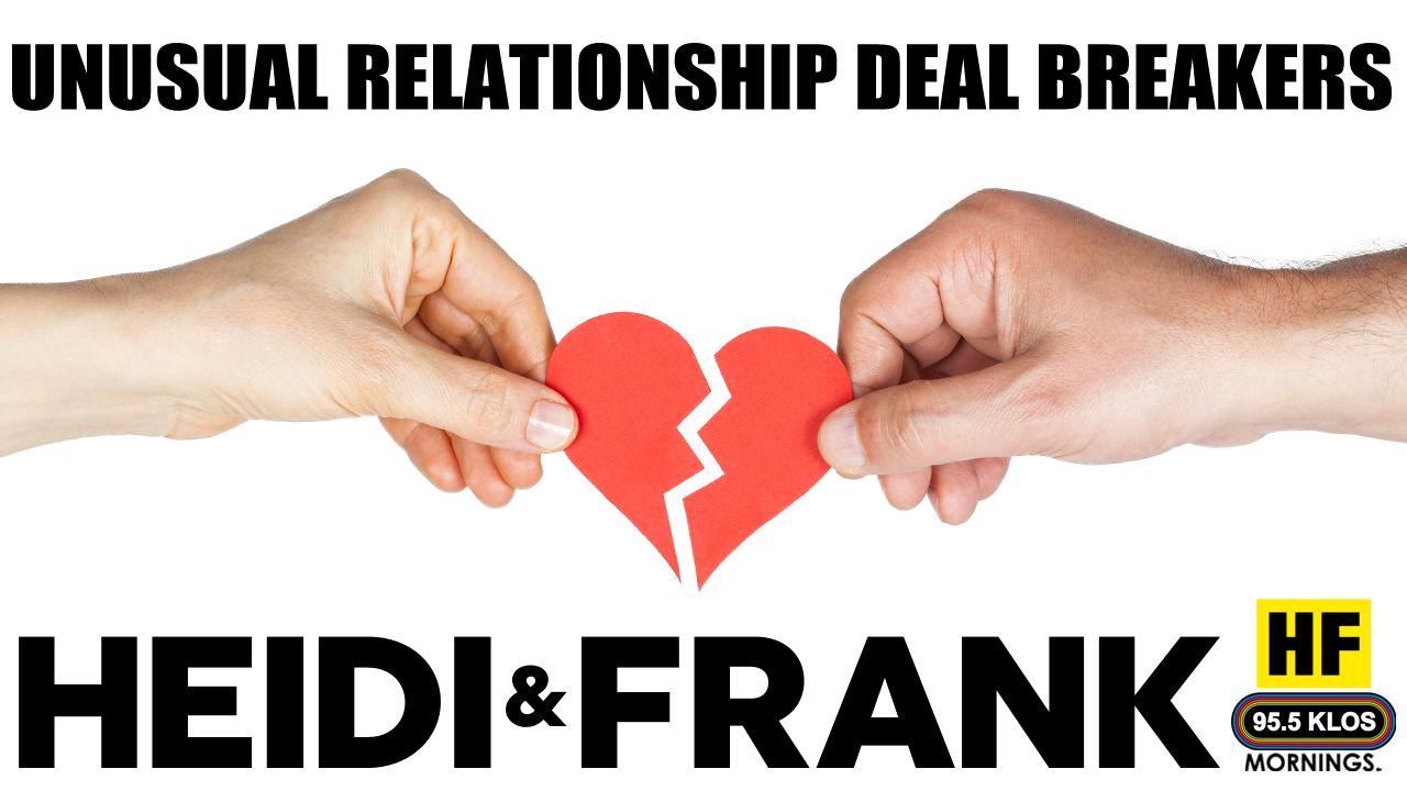 Unusual Relationship Deal Breakers