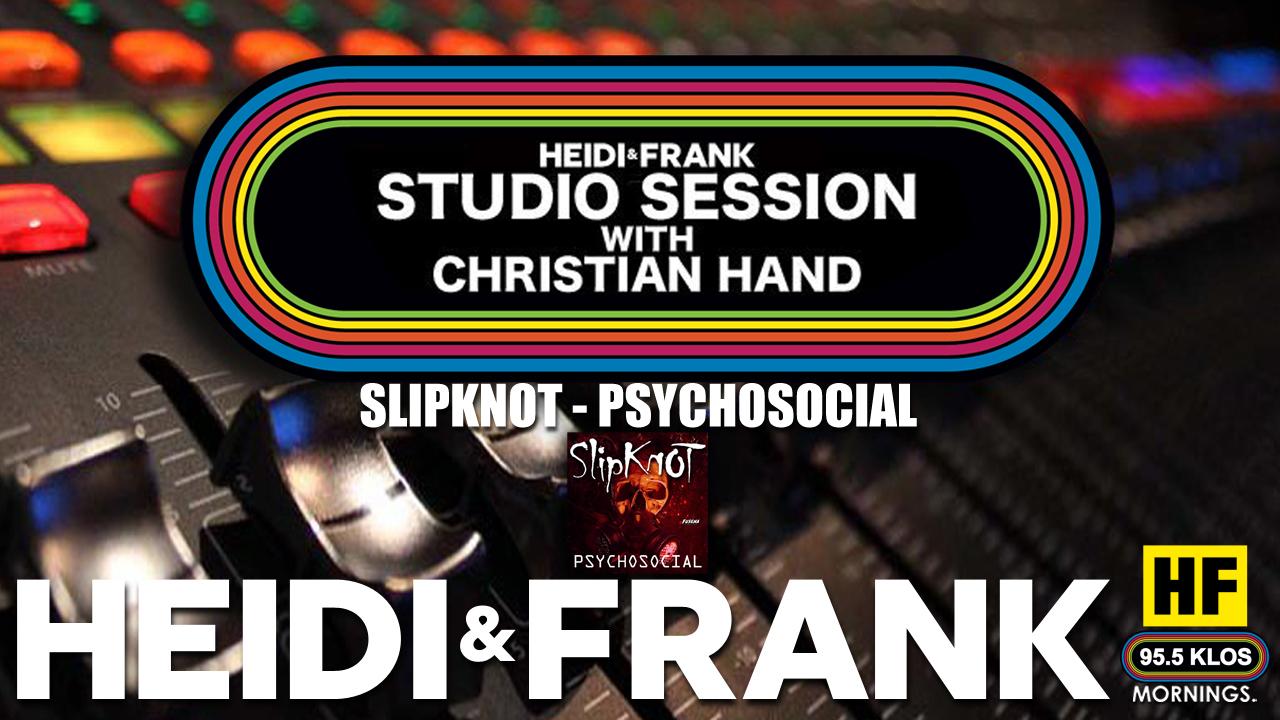 HF Studio Session With Christian James Hand 08/02/21