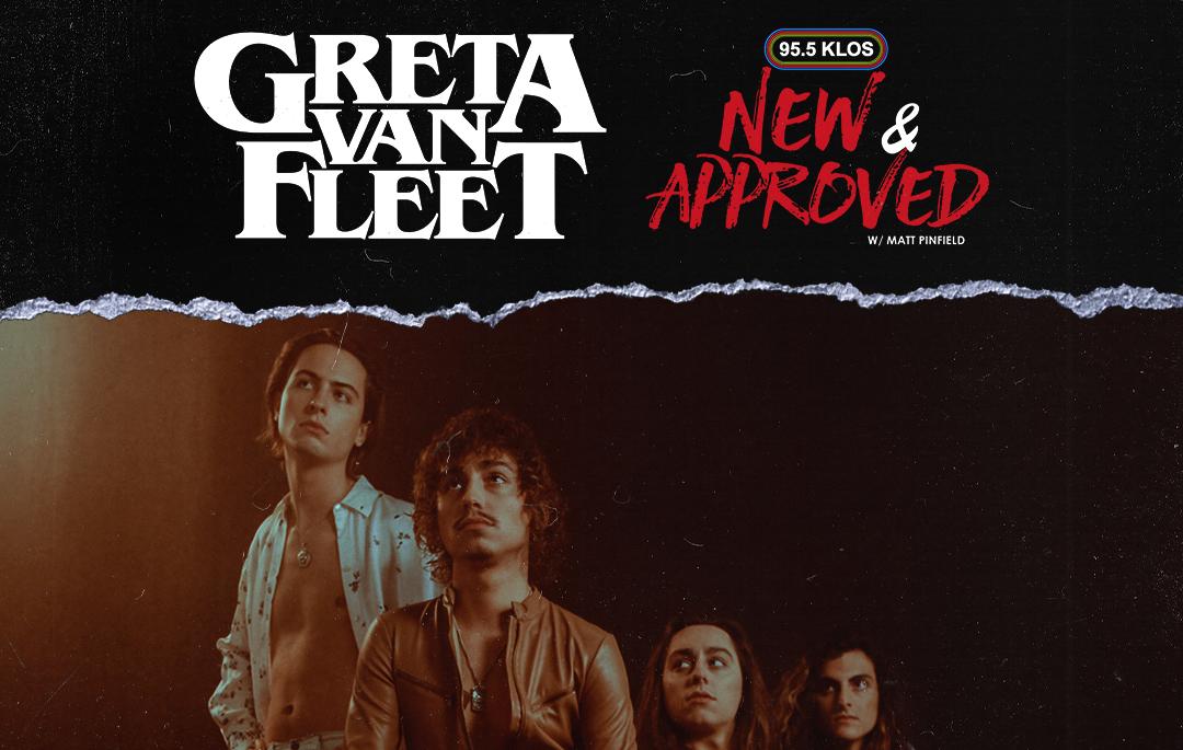 "Greta Van Fleet Talks The Creative Process Behind ""The Battle At Garden's Gate"" On New & Approved"