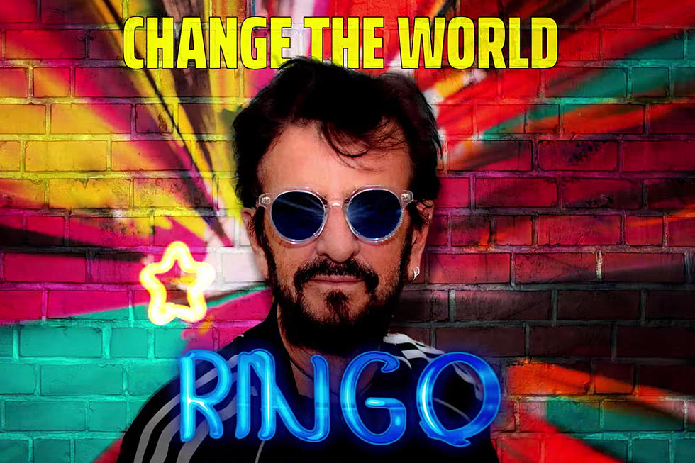 """Ringo Starr To Release Another New EP """"Change The World"""""""
