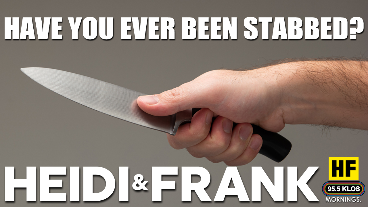 Have you ever been stabbed?