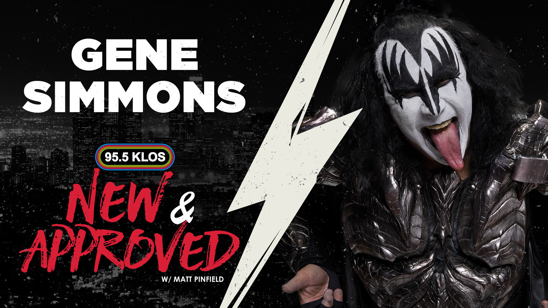 Gene Simons Discusses KISS's Upcoming Tour and The Current State Of Rock W/ Matt Pinfield on New & Approved