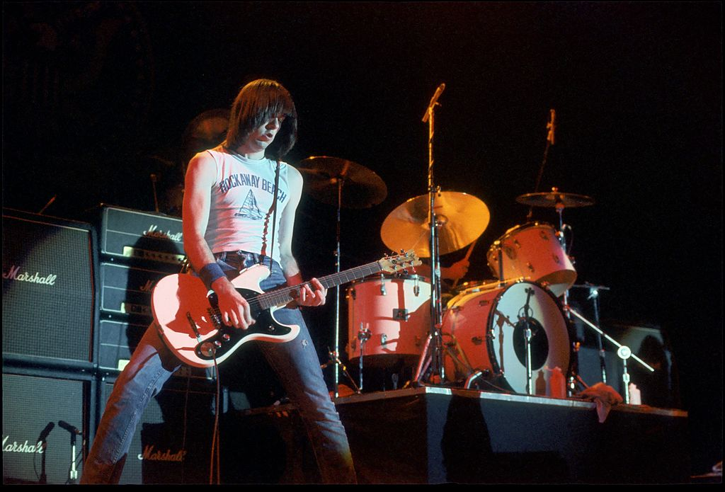 Johnny Ramone's Guitar Sold At An Auction For Just Under $1 Million.