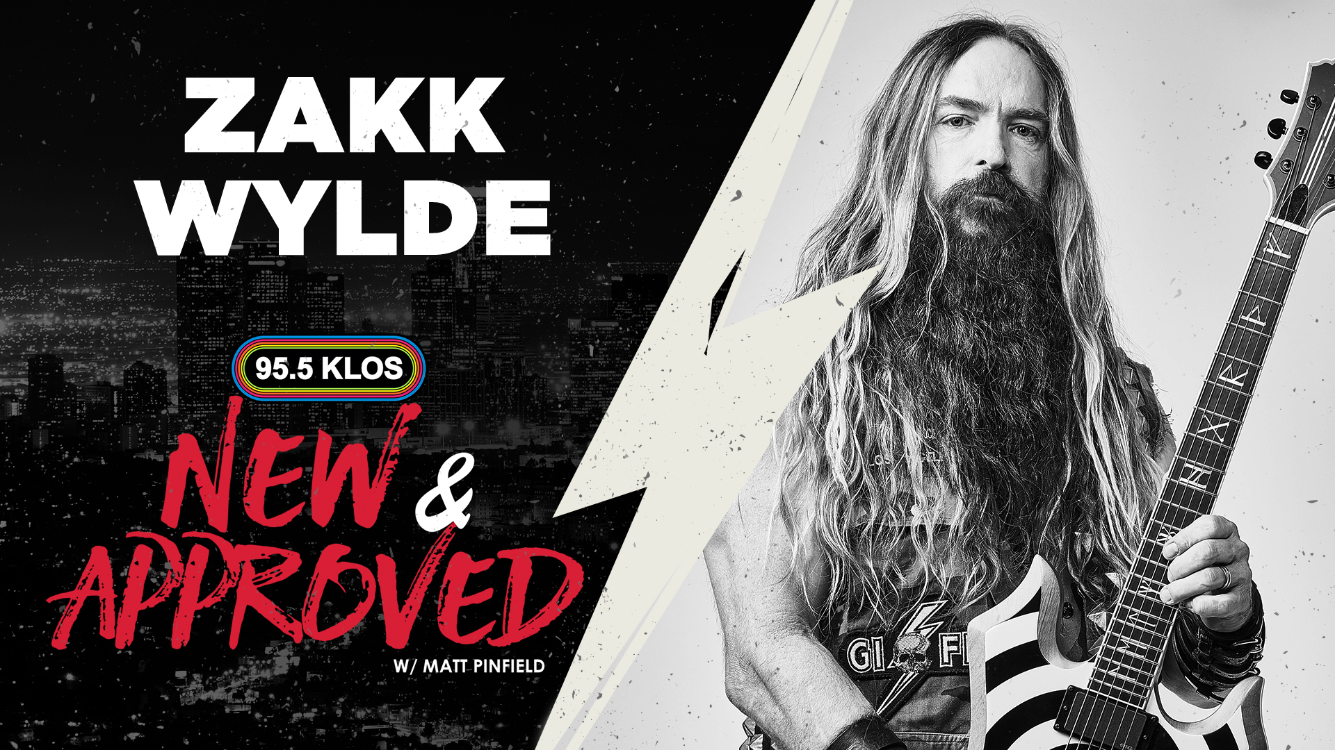 """Zakk Wylde Talks Black Label Society & Their Newest Record With Matt Pinfield On """"New & Approved"""""""