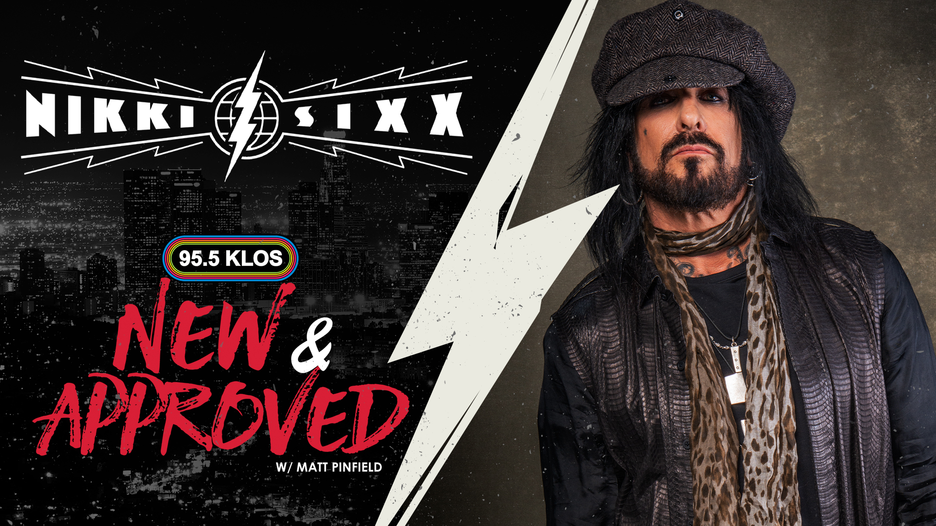 """Video: Nikki Sixx Discusses New Book """"The First 21"""" & Mötley Crüe With Matt Pinfield on """"New & Approved"""""""