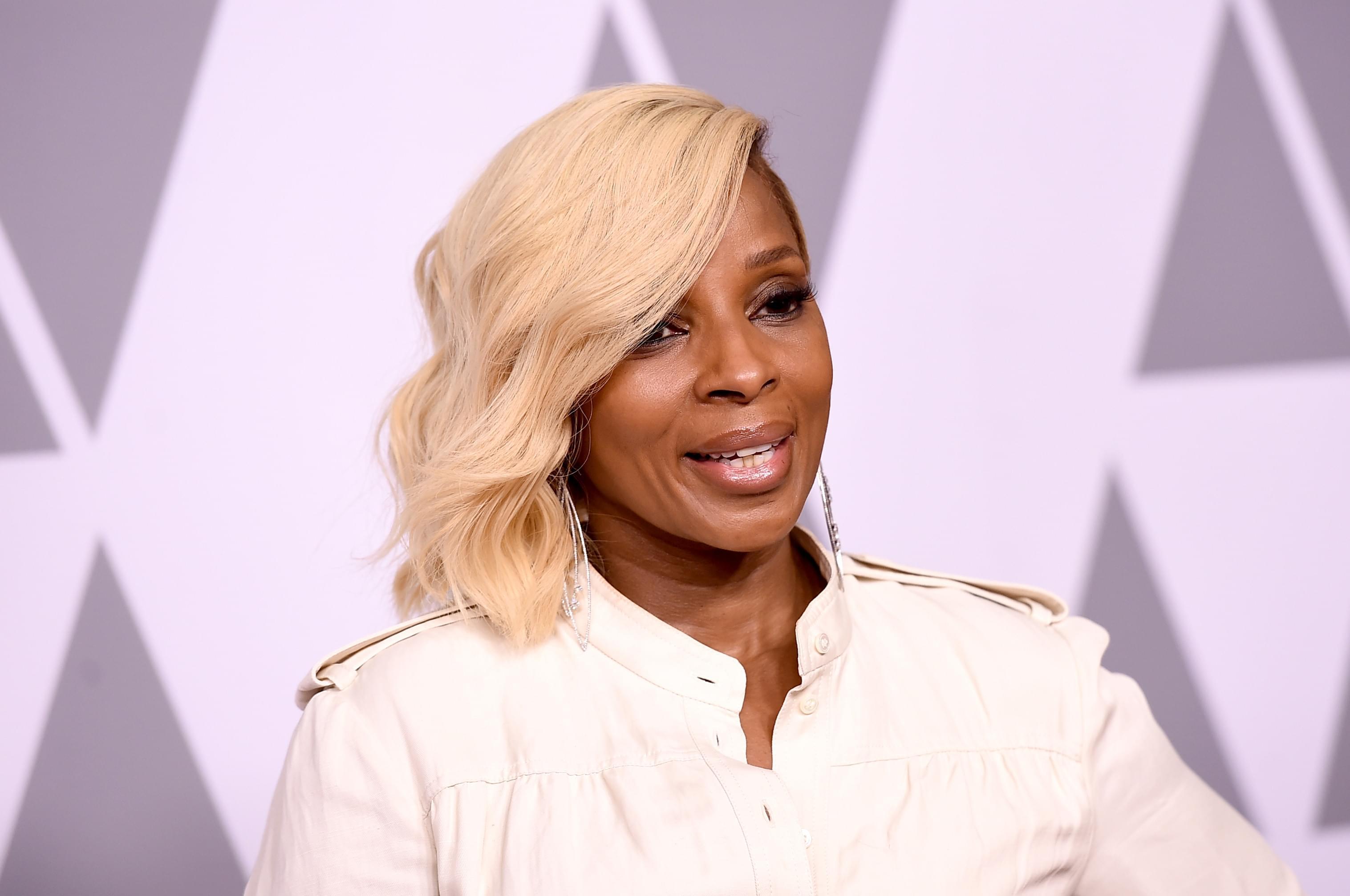 Mary J. Blige Will Be Starring In New Horror Thriller