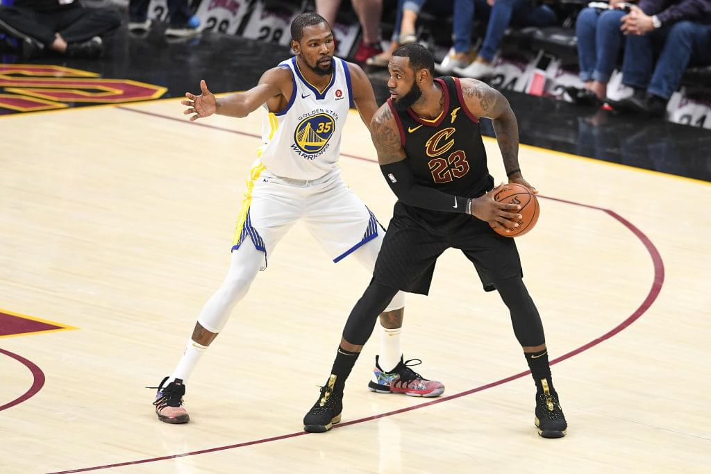 Report: LeBron James Texted Kevin Durant About Teaming Up In L.A.