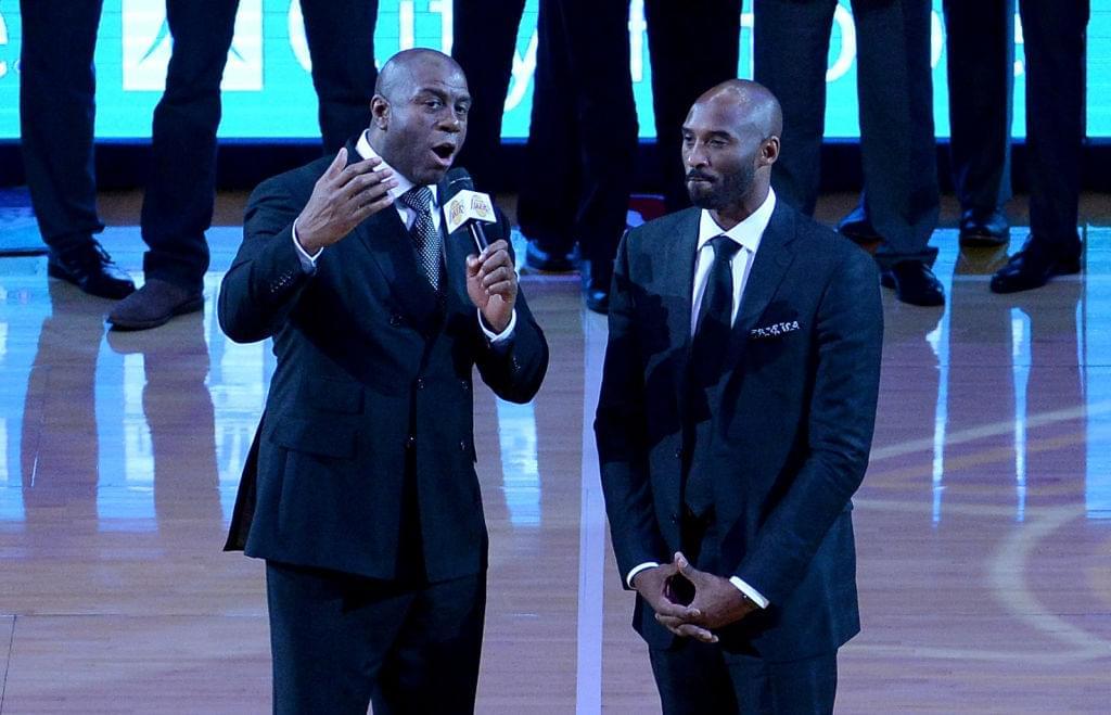 Kobe Bryant Says Magic Johnson Deserves Second Statue After Bringing In LeBron James