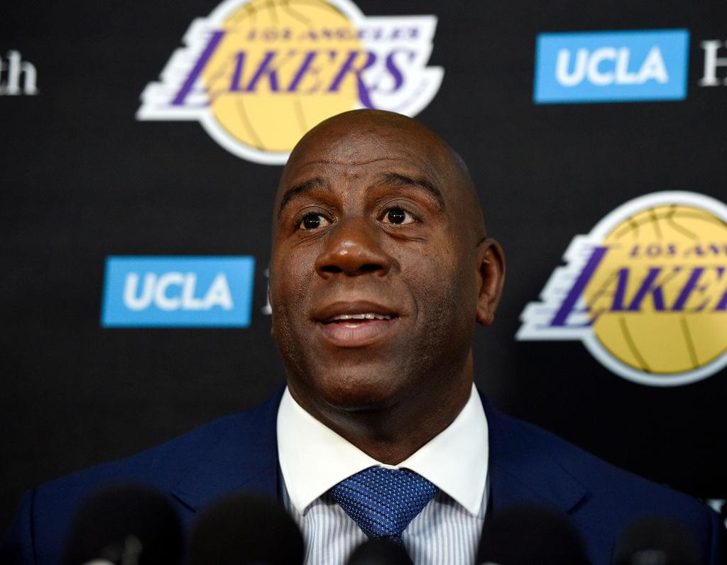 Magic Johnson: Lakers Will Consult With LeBron James When Bringing Players