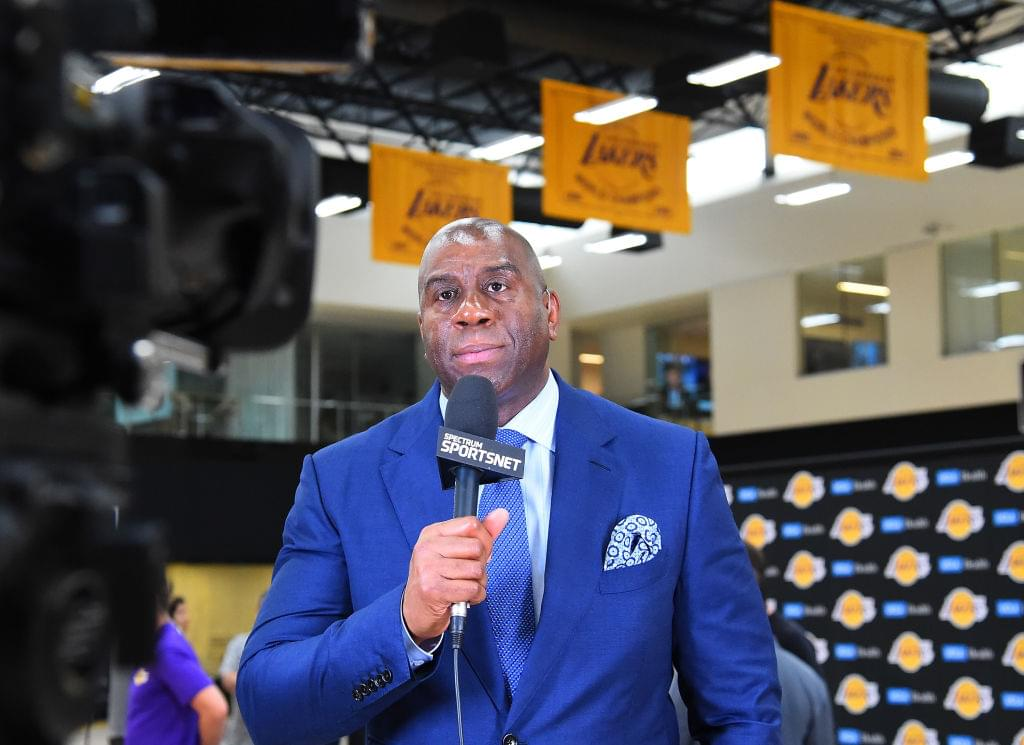 """Magic Johnson Not Scared Of Golden State Warriors: """"They Don't Keep Me Up At Night"""""""