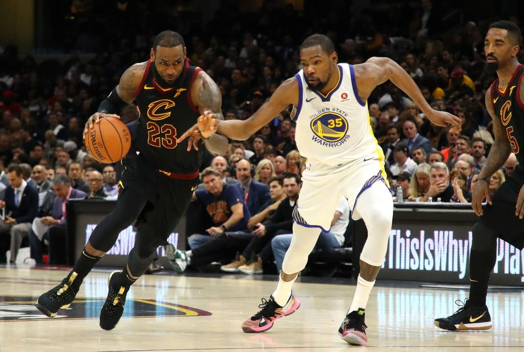 "Kevin Durant Says LeBron James Joining The Lakers Is ""Perfect Next Step For Him"""