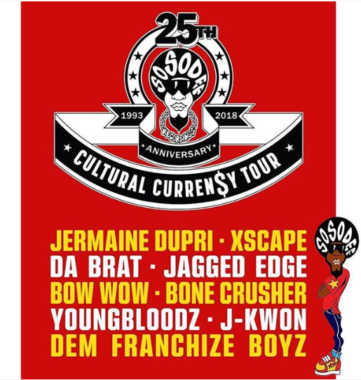 Jermaine Dupri Announces So So Def Anniversary Tour